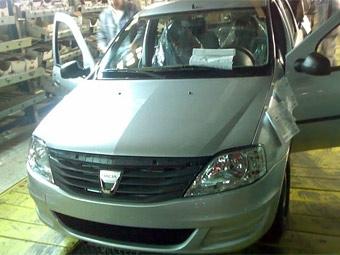 Dacia Logan готовится к фейслифтингу