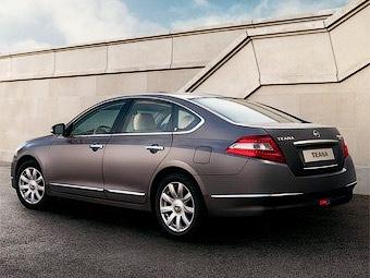 Российская сборка удешевила Nissan Teana на 93 тысячи рублей