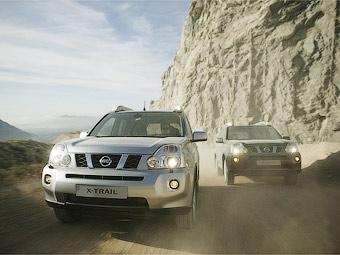 На российском заводе Nissan начался выпуск кроссоверов X-Trail