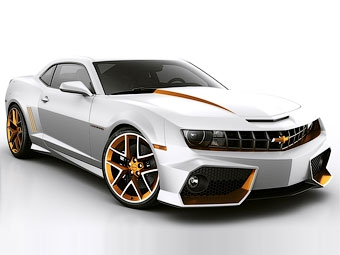 Для британцев купе Camaro сделали похожим на Lamborghini Reventon