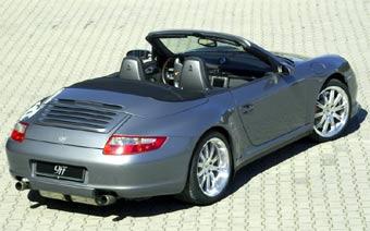 В 9ff построили экстремальный кабриолет на базе Porsche 911