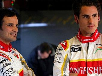 """Команда """"Формулы-1"""" Force India сохранила состав на 2010 год"""