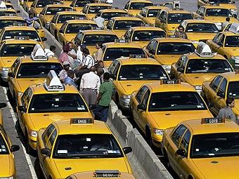 Нью-йоркские таксисты потребовали от властей компенсации за бензин