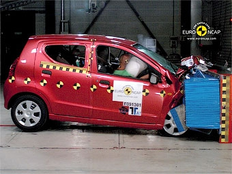Организация Euro NCAP испытала на безопасность шесть новых автомобилей