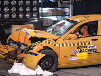 Седан Brilliance BS4 провалил краш-тест Euro NCAP