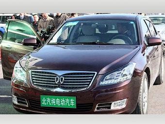 Китайский автопроизводитель BAIC представил электрокар