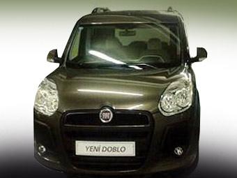 Fiat обновил фургончик Doblo