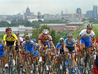 Из-за велогонки в Москве на четыре дня перекроют движение
