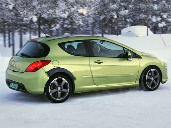 Peugeot готовит спортивную версию модели 308