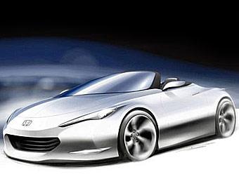 Компания Honda разработала новый концептуальный родстер