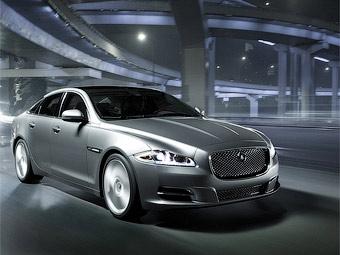 Новый Jaguar XJ стал гибридом