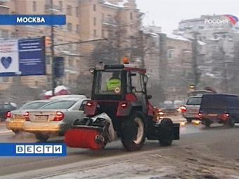 Бороться с заносами в Москве будут 4000 снегоуборочных машин