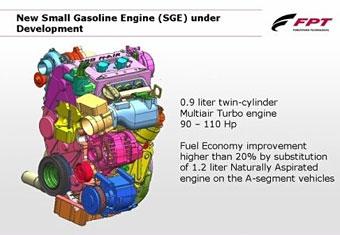 Fiat готовит линейку уникальных моторов