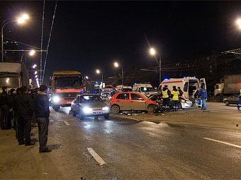 За семь месяцев на дорогах России погибли 13 тысяч человек