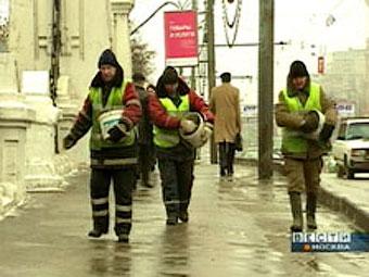 В Москве придумали новый способ борьбы с гололедом
