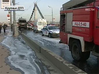 В Москве установлен рекорд по количеству ДТП