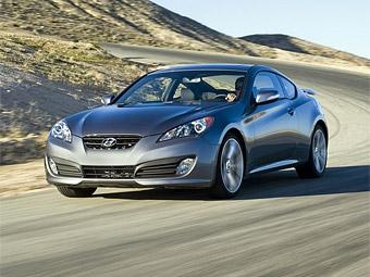 Компания Hyundai объявила российские цены на заднеприводное купе Genesis