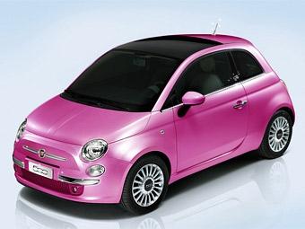 У куклы Барби появился свой Fiat 500