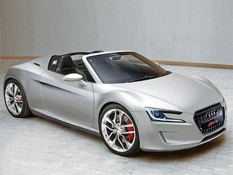 Audi превратит электрический суперкар e-tron в компактный родстер