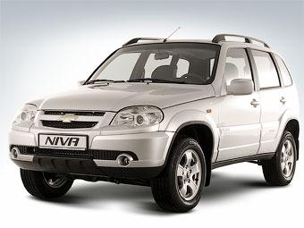 Выпуск внедорожников Chevrolet Niva сократился в три раза