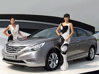 Фирма Hyundai официально представила новую Sonata