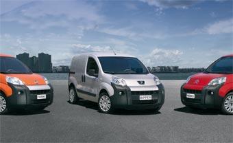 Fiat Peugeot и Citroen начали выпуск новых фургонов