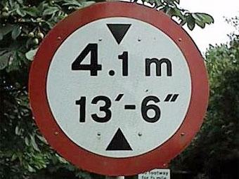 На дорожных знаках в Великобритании появятся метрические обозначения