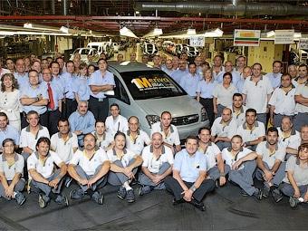 Компания Opel выпустила миллионный экземпляр модели Meriva