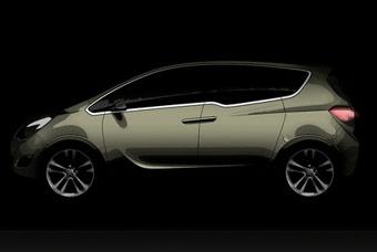 Новый Opel Meriva получит двери в стиле Rolls-Royce Phantom