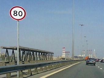 На ТТК в Москве разрешили разгоняться до 80 километров в час