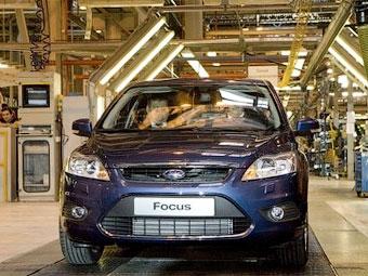 Российский завод Ford на неделю приостановит производство автомобилей