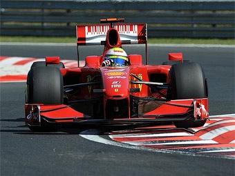 Фелипе Масса вернется за руль болида Ferrari в октябре