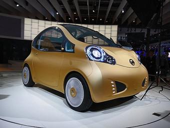 Nissan создал электромобиль-дерево