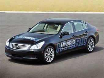 Компания Nissan разработала собственную гибридную установку