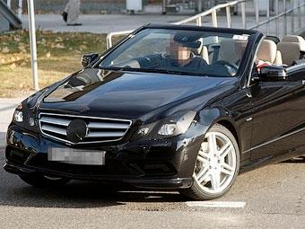 Кабриолет Mercedes-Benz E-Class приступил к финальным тестам