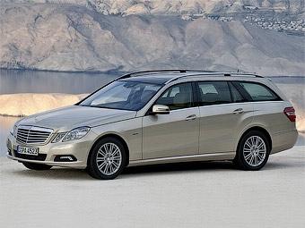 Появились фотографии нового универсала Mercedes-Benz E-Class