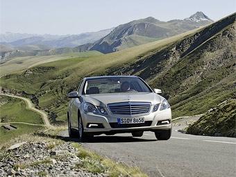 Mercedes-Benz привезет во Франкфурт универсал E-Class