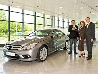 Первое в мире купе Mercedes-Benz E-Class вручили владельцу