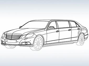 Новый Mercedes-Benz E-Class станет лимузином