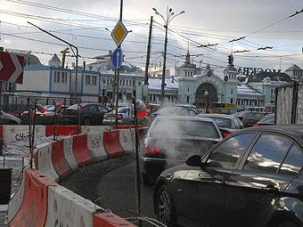 На борьбу с пробками Москва получит 1,2 триллиона рублей