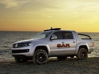 Пикап VW Amarok доберется до России летом 2010 года