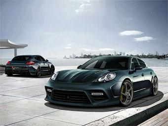 Тюнинг-ателье Mansory добавило в облик Porsche Panamera агрессии