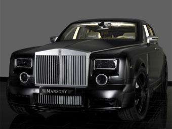 Mansory занялся тюнингом Rolls-Royce Phantom