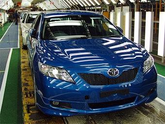 В апреле производство автомобилей в Японии сократилось вдвое