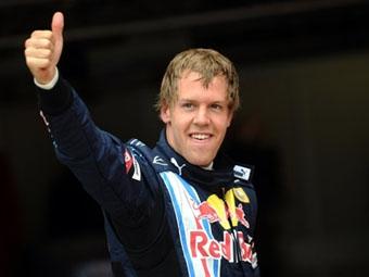 Себастьян Феттель выиграл квалификацию Гран-при Великобритании