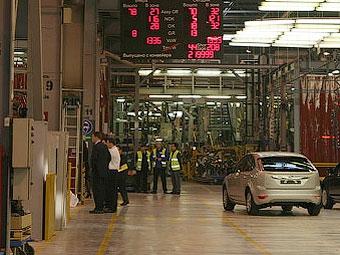 Российский Ford остановит производство на две недели