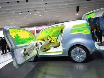 Компания Renault придумала электромобиль-термос