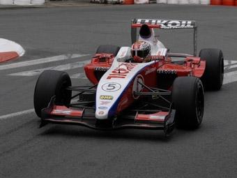 Афанасьев занял третье место на свободных заездах IFM во Франции