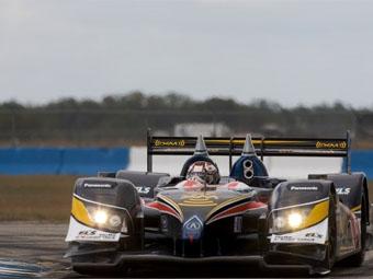 Новый автомобиль Acura выиграл поул-позицию в Себринге