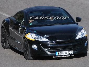 Компания Peugeot начала испытания спорткупе на базе модели 308